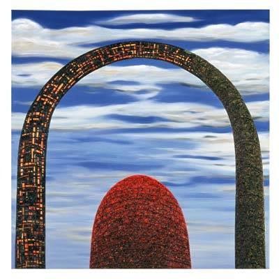 Andre Van Der Kerkhoff - Smouldering Arch